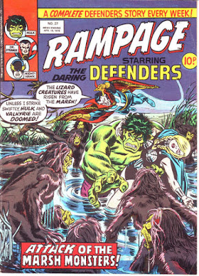 Rampage #27, the Defenders