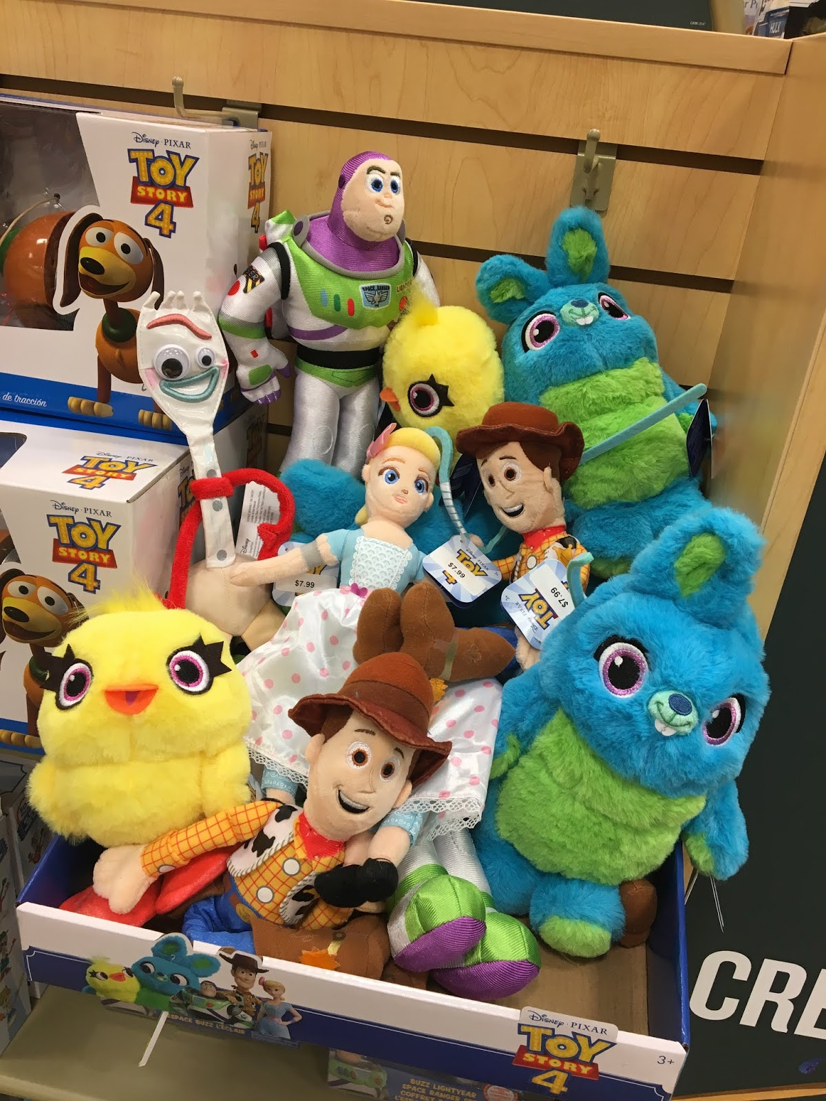 toy story 4 toys in store release 2019