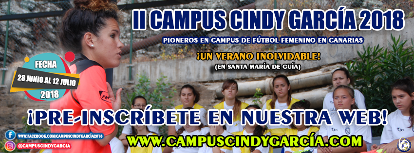 CAMPUS CINDY GARCÍA 2018