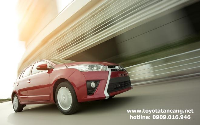 """toyota yaris 2015 toyota tan cang 16 -  - Giá xe Toyota Yaris 2015 nhập khẩu - """"Quả bom tấn"""" của dòng Hatchback"""