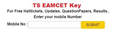 TS Eamcet Key 2019