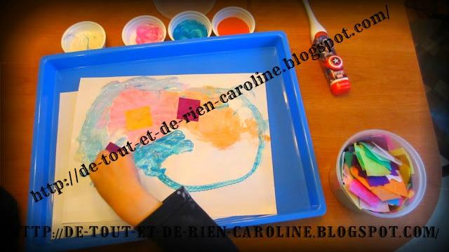 de tout et de rien activit s pour le pr scolaire peinture la brosse dents lectrique. Black Bedroom Furniture Sets. Home Design Ideas