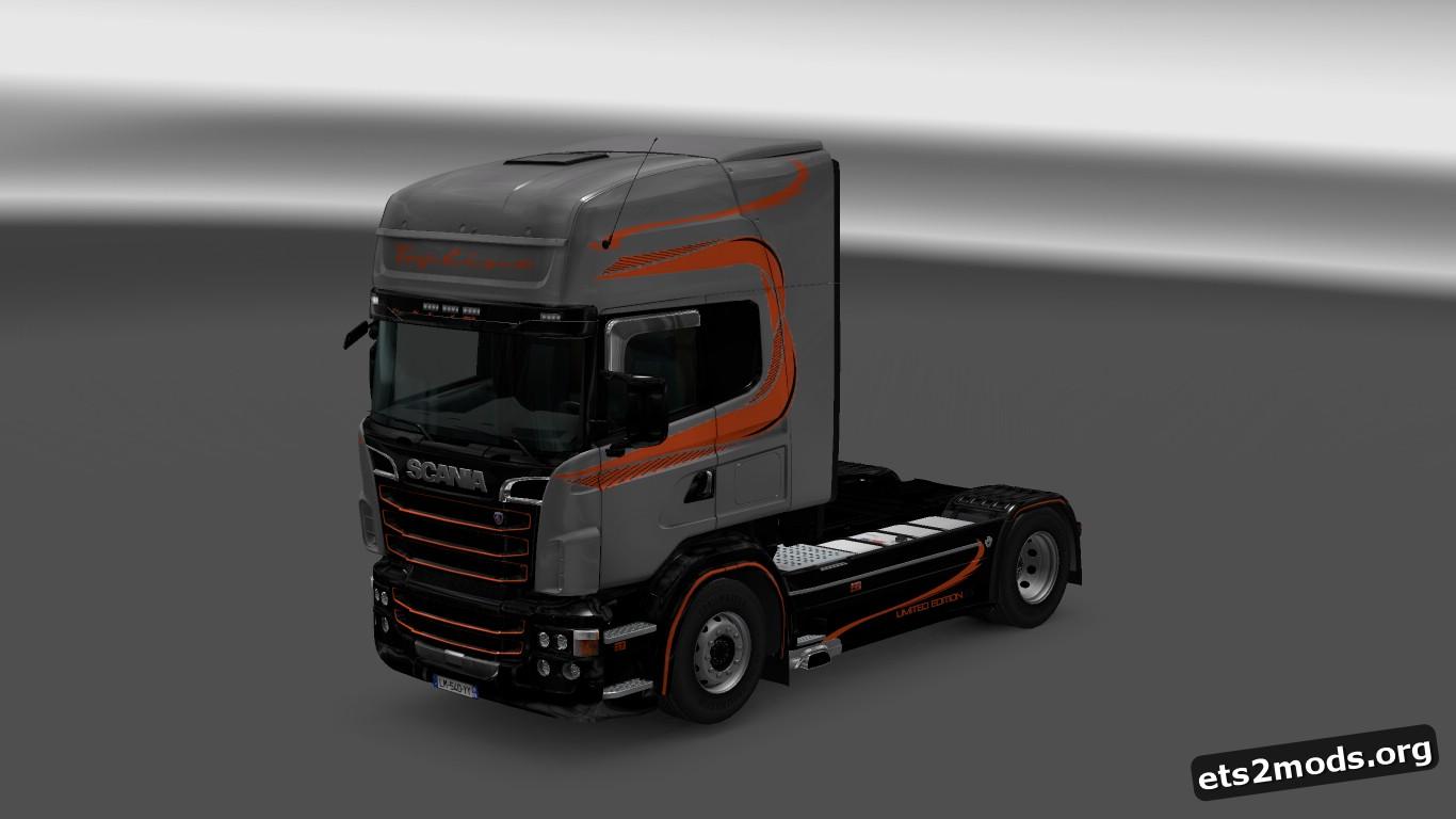 Topline Limited Skin for Scania RJL