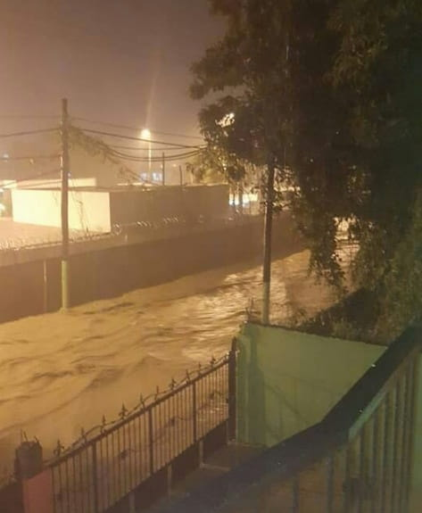 Aguaceros en Puerto Plata