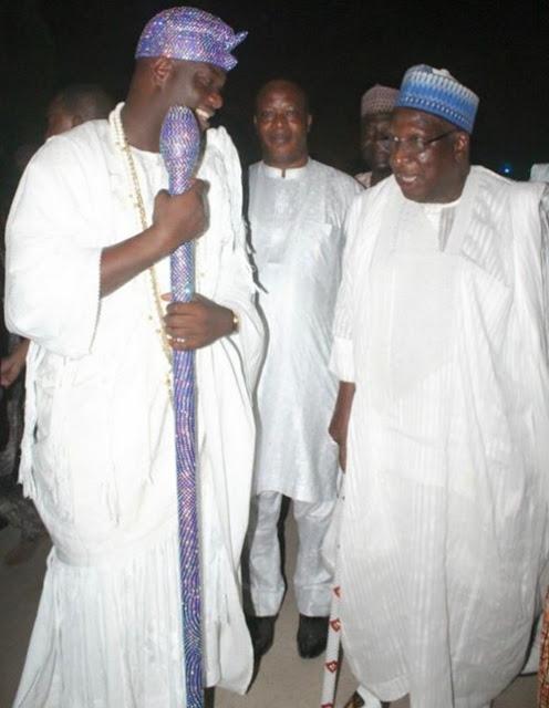 Ooni Of Ife Oba Ogunwusi Turns Politician, Visits Ex-PDP Chairman In Abuja [PHOTOS]