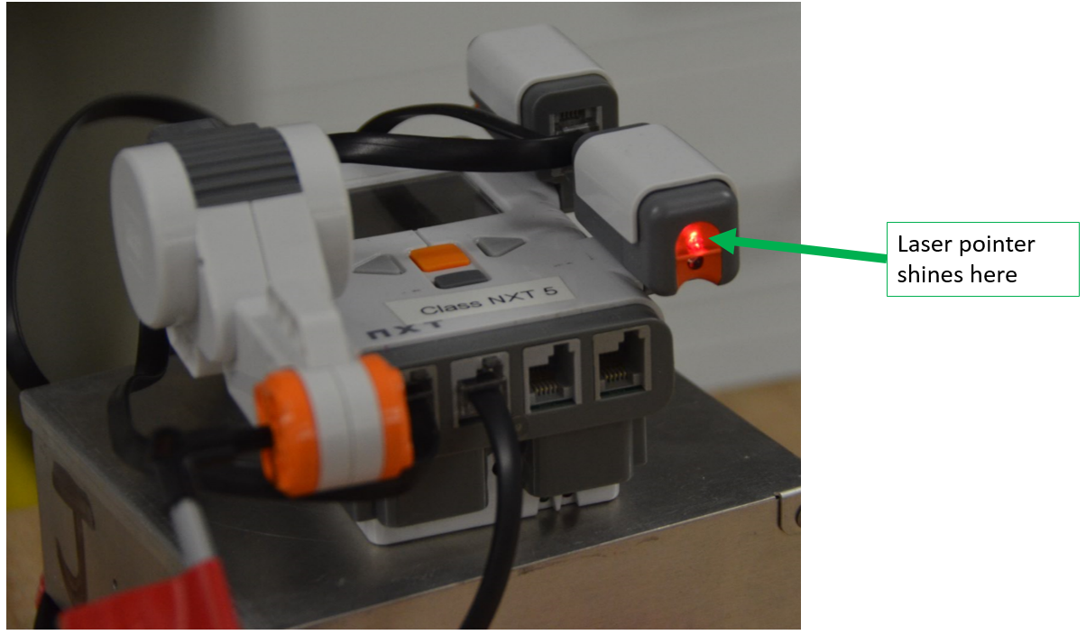 Nxt Laser Sensor For Lego Nxt