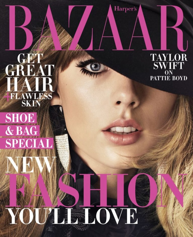 Taylor Swift for Harper's Bazaar August 2018