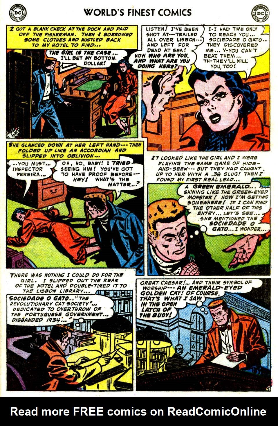 Read online World's Finest Comics comic -  Issue #68 - 47