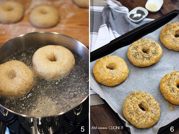 bagel per re-cake(procedimento)