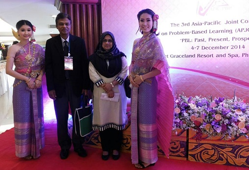 At the 3rd APJC-PBL-2014, Thailand