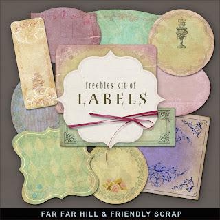Freebies Kit of Labels