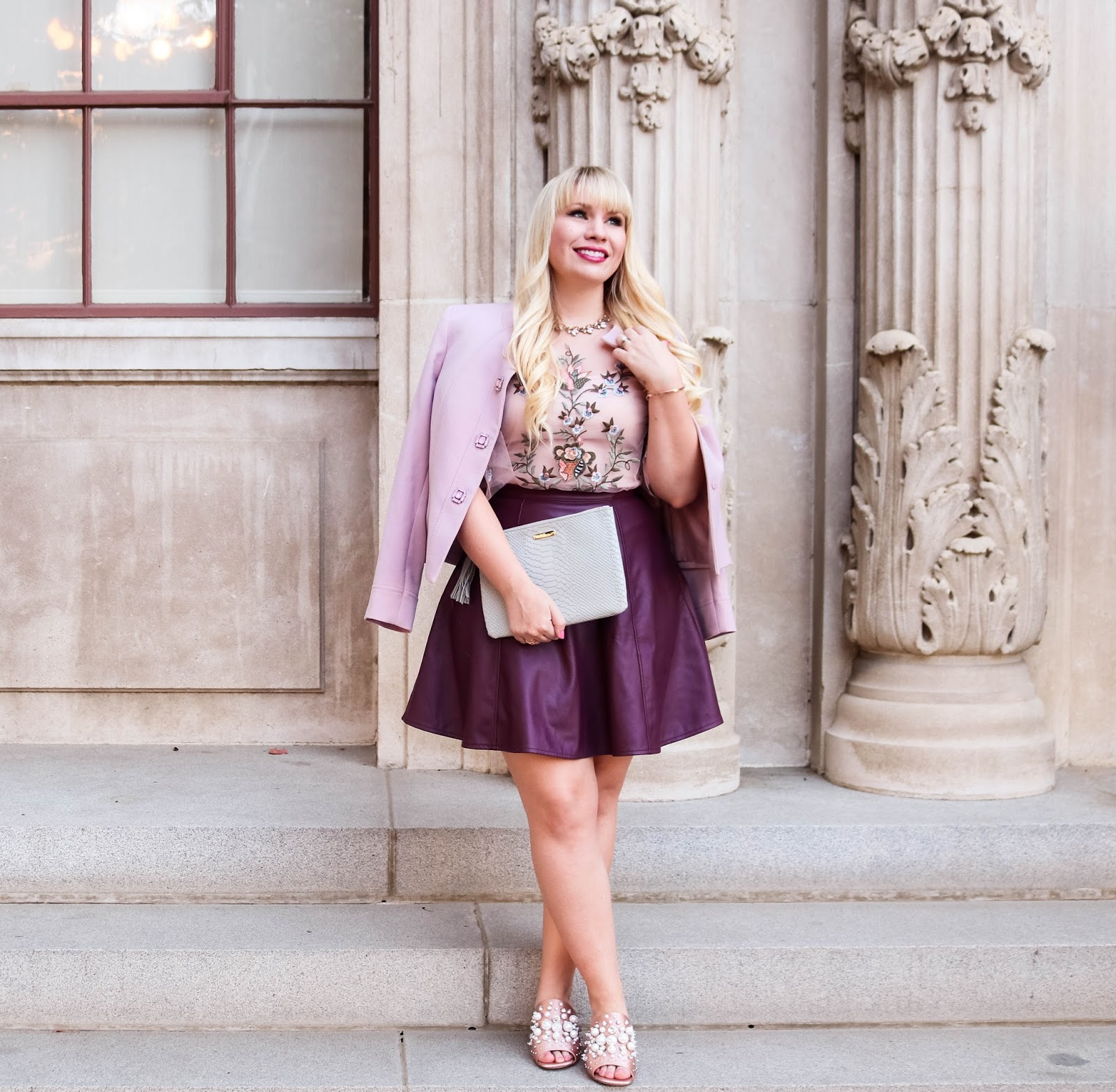 Pink and Plum Outfit