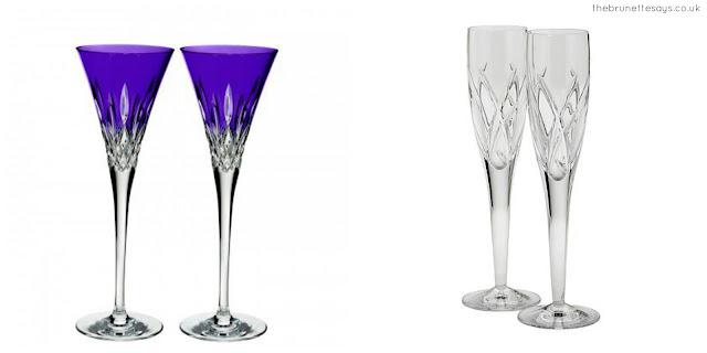 celebrate, dry january, champagne glasses, House of Fraser