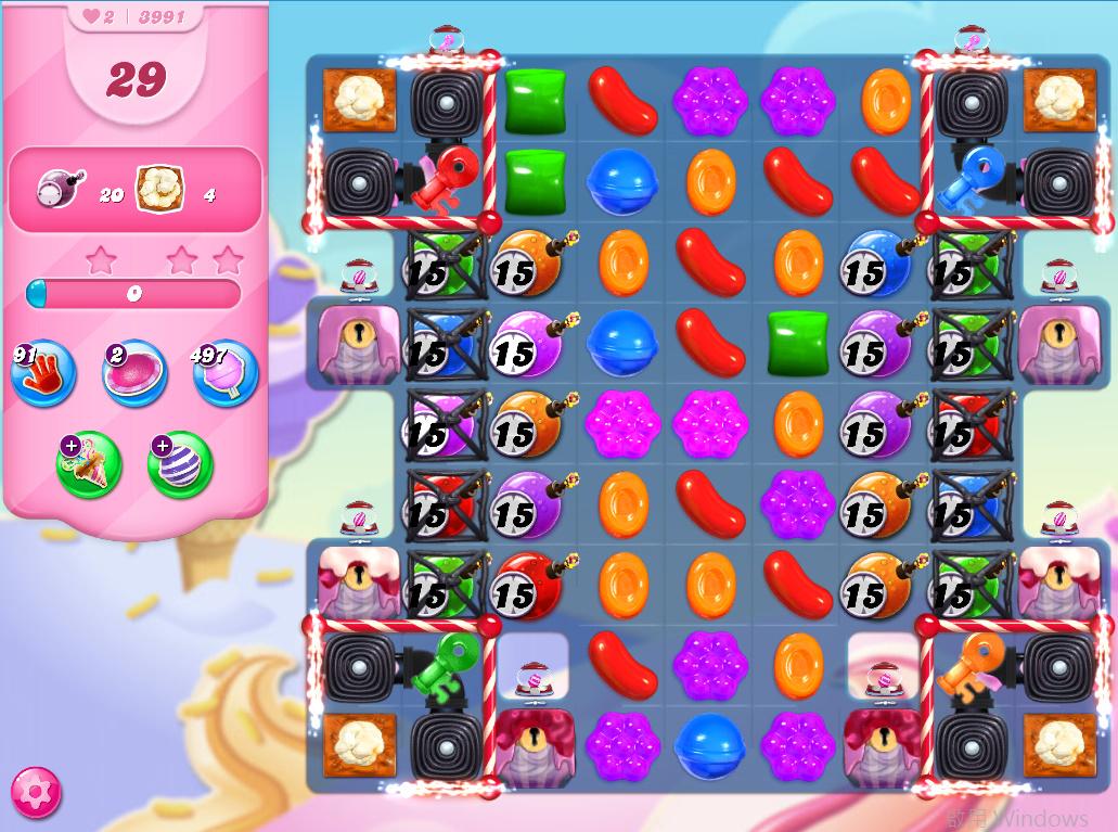Candy Crush Saga level 3991