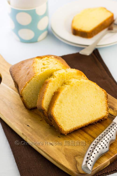 牛油磅蛋糕【香濃好味茶點】 Butter Pound Cake | 簡易食譜: 中西各式家常菜譜 | 基絲汀