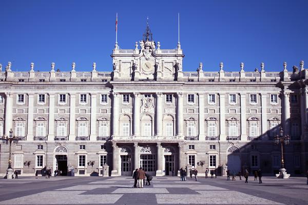 patio del palacio real