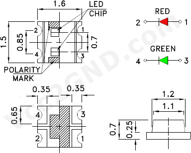 Smd Led: Smd Led Wiring Diagram