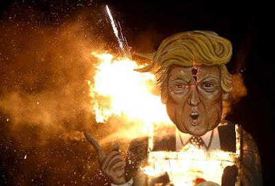 Aksi Rasisme di AS Meningkat Sejak Kemenangan Trump dalam Pemilihan Presiden Amerika