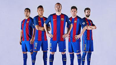 Data Rata-Rata Tinggi Badan Pemain Barcelona