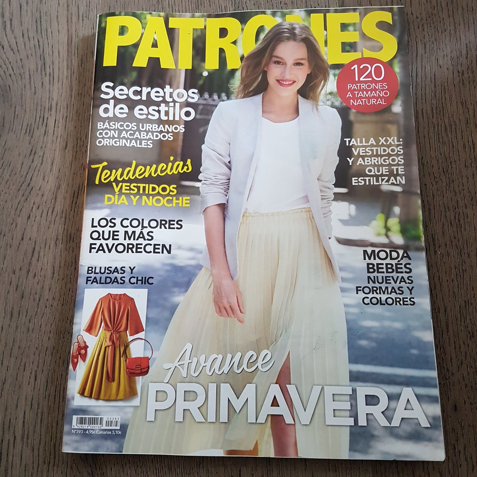1d5b0410 Calcedonia Sewing: Patrones Magazine 393