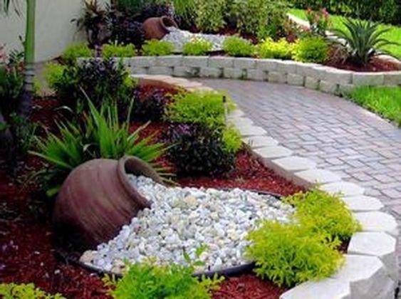 rock garden ideas front yard