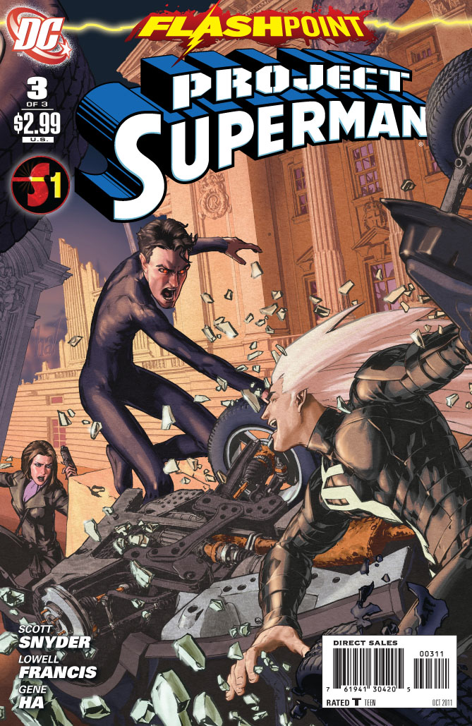 Supergirl Comic Box Commentary: Review: Flashpoint ...