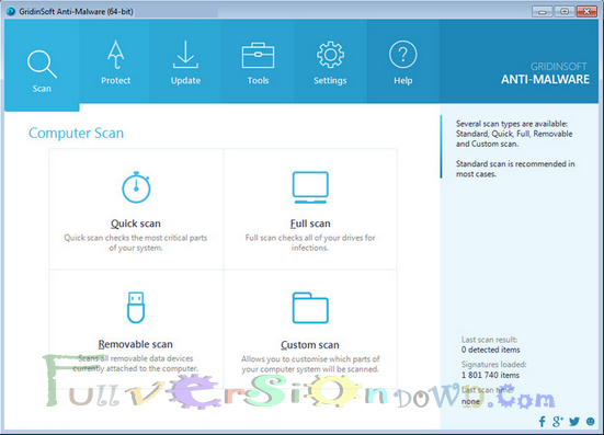 GridinSoft Anti-Malware Latest Full