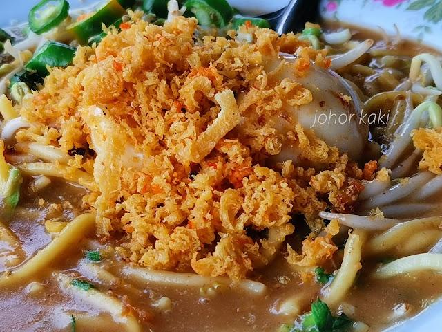 Original Stulang Laut Mee Rebus. Seaside Comfort Dish in the Happy Memories of Johor Folks