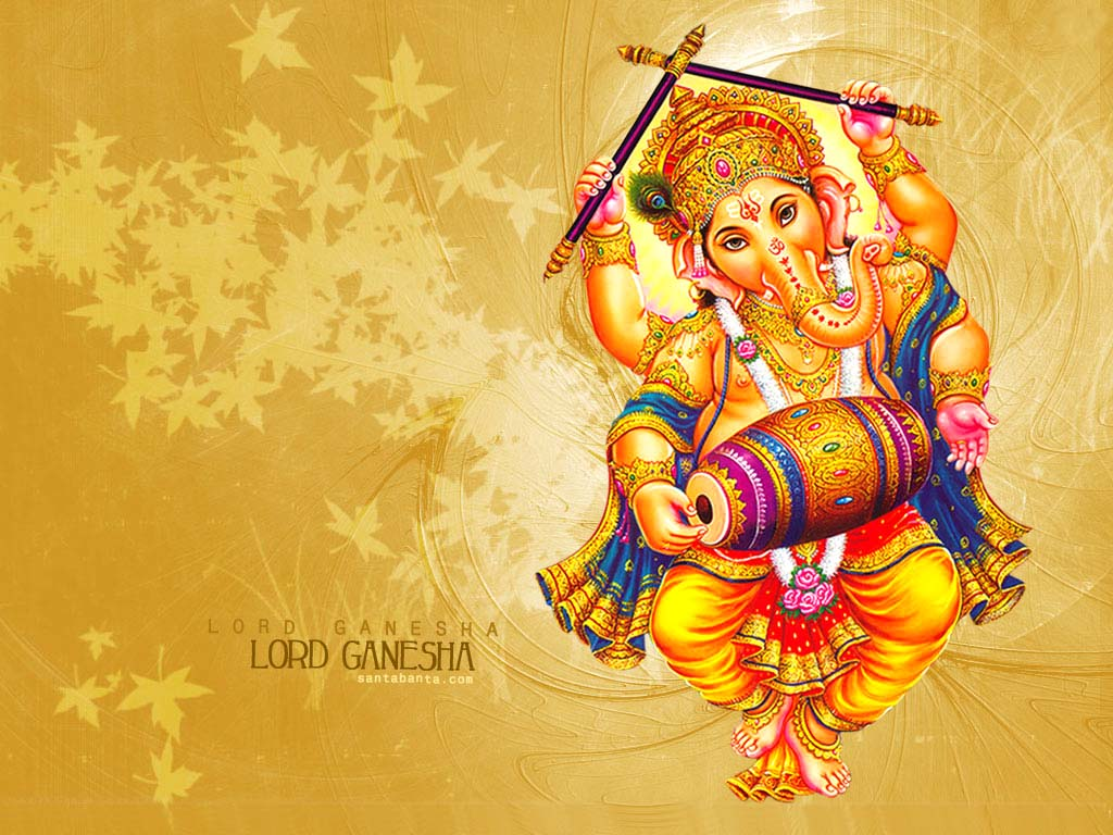 Dancing Ganesha Wallpapers