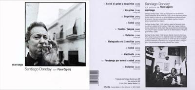 """SANTIAGO DONDAY, PACO CEPERO """"MORRONGO"""" NUEVOS  MEDIOS 2003"""