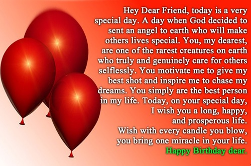 greeting birthday wishes for a special friend This Blog About – Birthday Wishes and Greetings for a Friend