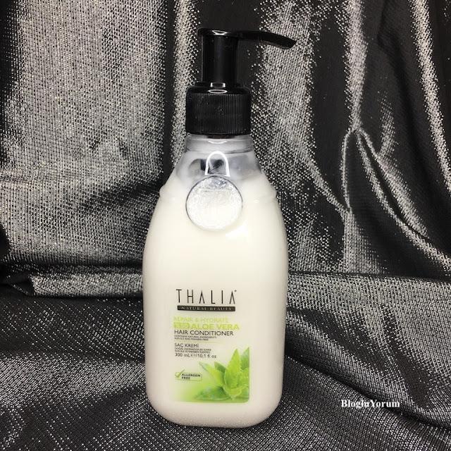 Thalia Natural Aloe Vera Onarıcı ve Nemlendirici Bakım saç kremi
