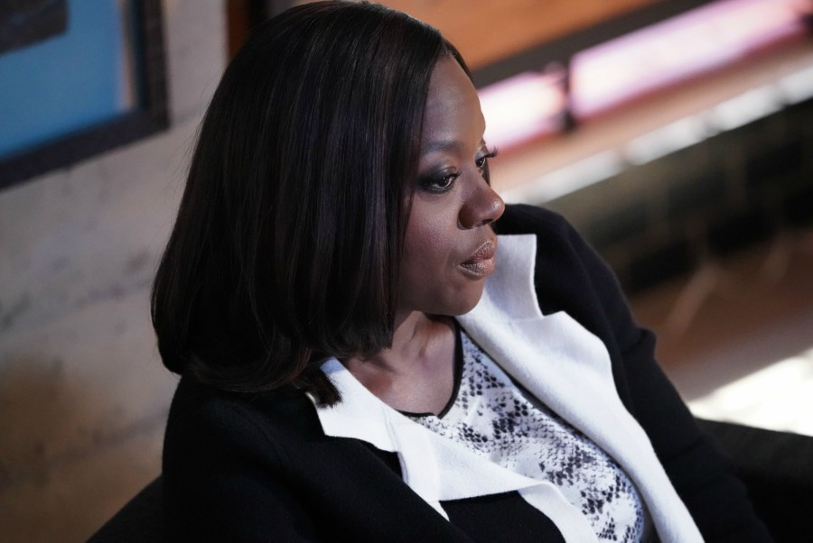 Fotografía de Viola Davis, que interpreta a Annalise Keating en 'How to Get Away with Murder'