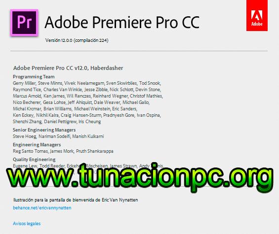 Adobe Premiere Pro CC 2018 para Windows y Mac Imagen