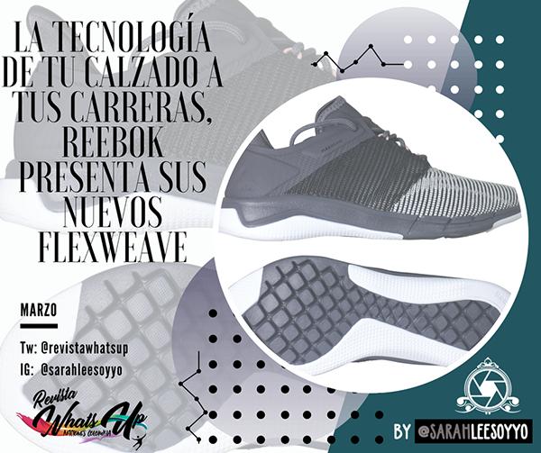 tecnología-calzado-carreras-Reebok-Flexweave