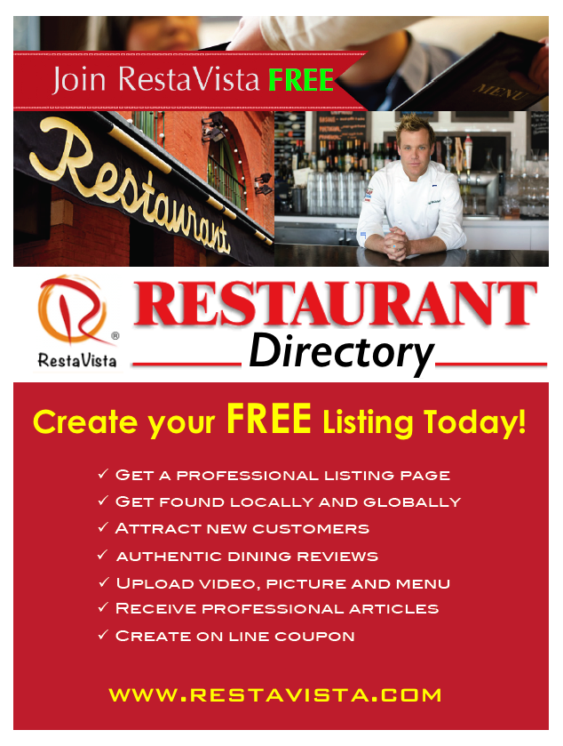 Restaurant Directory Advertising Local Guide Find A