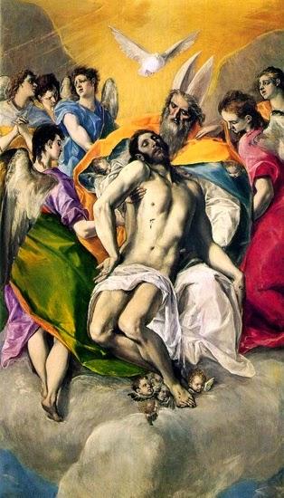 Santíssima Trindade - El Greco e suas principais pinturas ~ Maneirismo