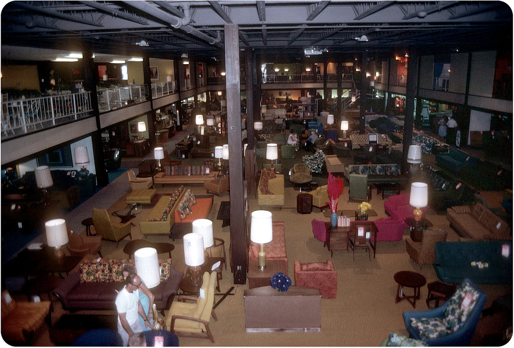Mad for Mid-Century: Mid-Century Furniture Store (in 1965)