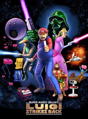 Ilustración ingeniosa de Mario Bros