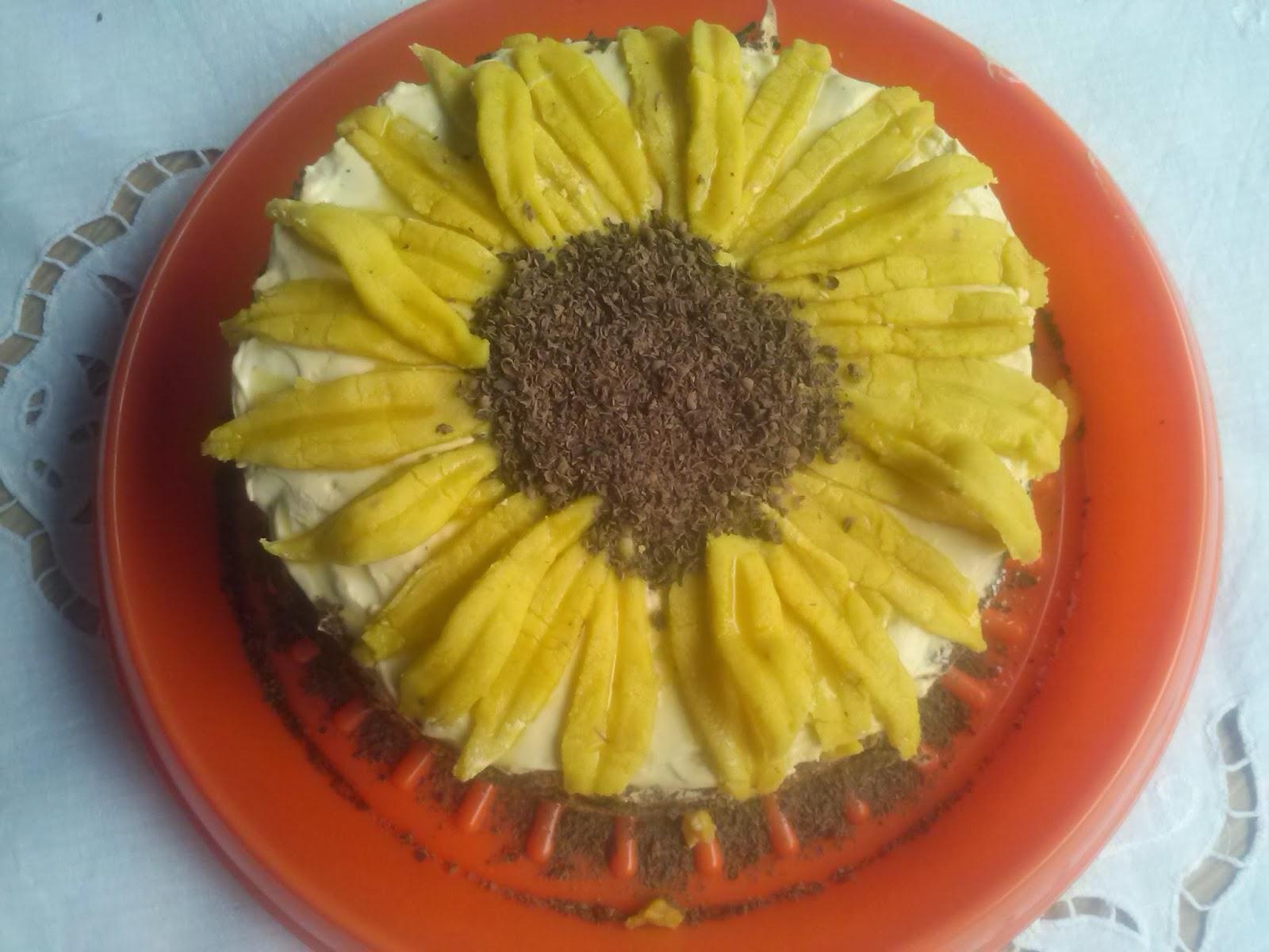 Moje Pasje Ogrod I Kuchnia Tort Dla Marioli