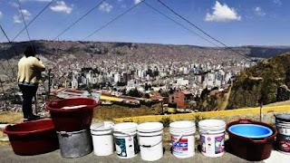 El presidente Evo Morales declaró la emergencia nacional; una de las principales represas de La Paz trabaja al 1%