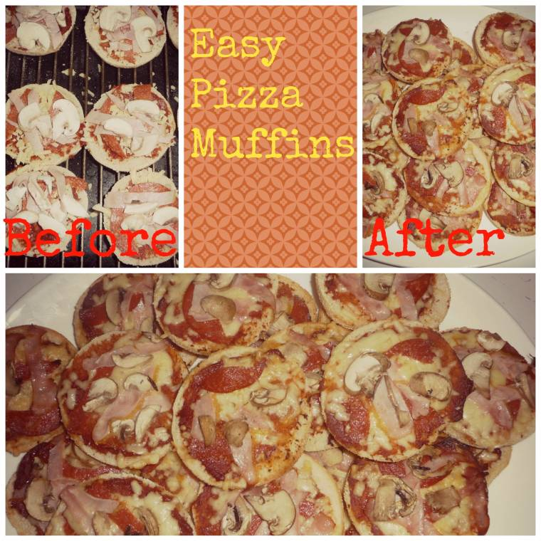 Easy Pizza Muffins And How To Make Some For Yourself
