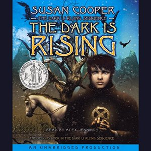 The Dark is Rising audiobook cover by Susan Cooper
