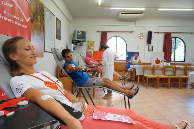 Υπερτριπλασιάστικαν οι εθελοντές που αιμοδότησαν για πρώτη φορά
