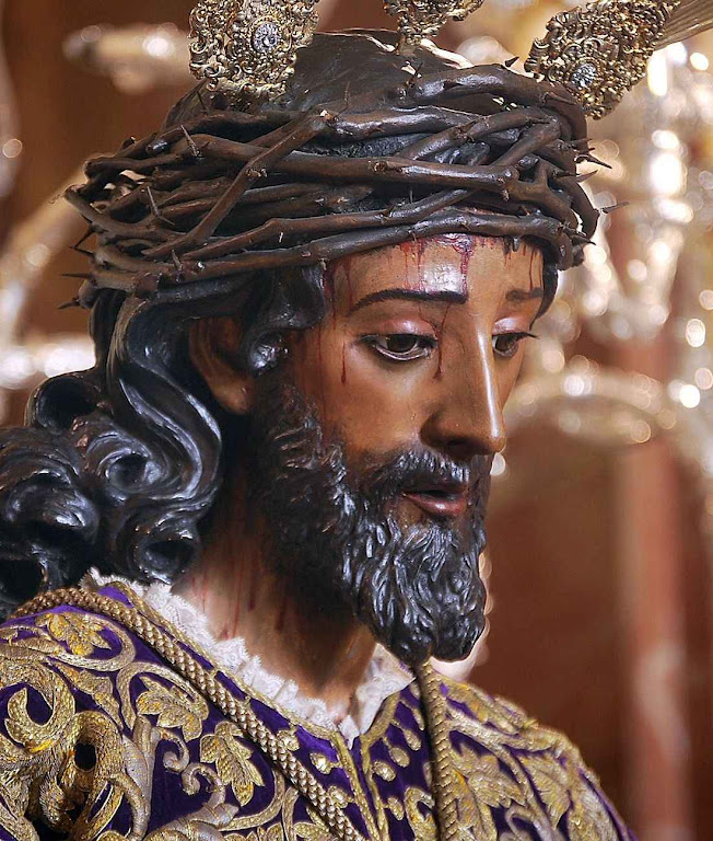 Nosso Pai Jesus da Sentença, condenado por Pilatos, Sevilha.