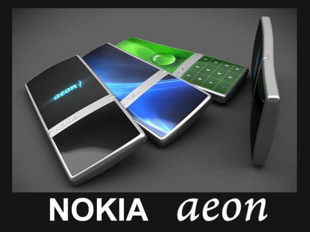 2c5b0fa3e09 Nokia announced Aeon the Fully Future Concept Phone
