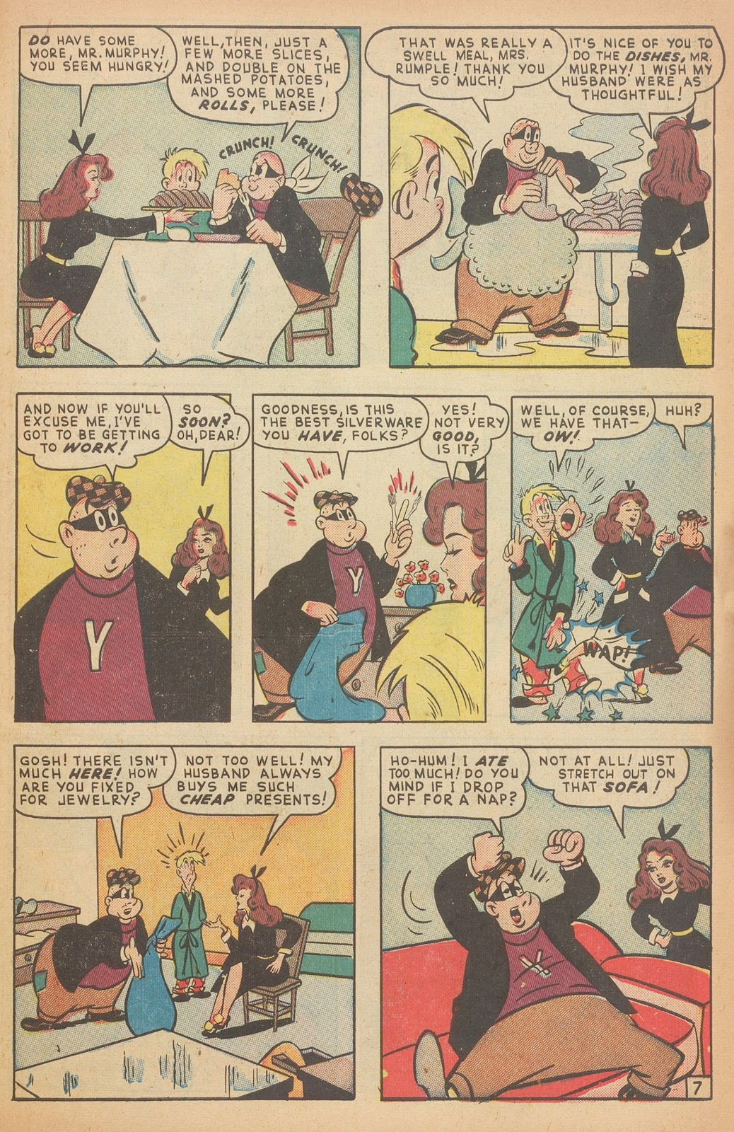 Read online Nellie The Nurse (1945) comic -  Issue #15 - 41