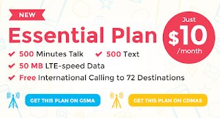 Red Pocket Essential Plan