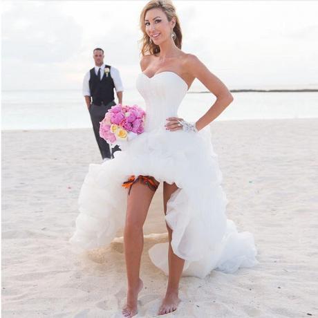 imagenes de vestidos de novia de playa