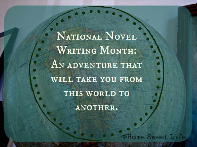 NaNoWriMo, writing for teens
